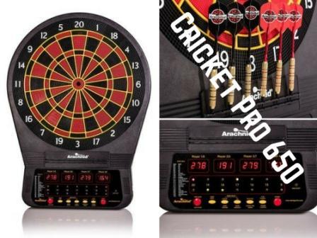Arachnid Cricket Pro 650 Review Dartboards Guide