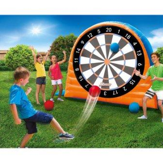 Banzai Land Bouncer all starr inflatable outdoor dart board set
