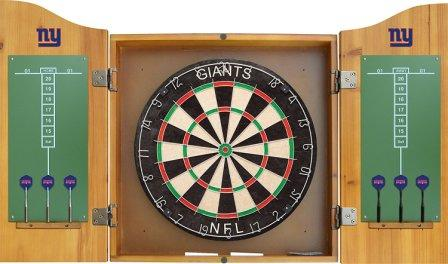 Imperial Officially Licensed NFL Merchandise outdoor Dart Cabinet Set