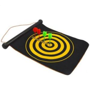 Kangkang portable double faced magnetic hanging dart shot boards