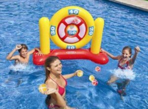 Oofay inflatable dartboard