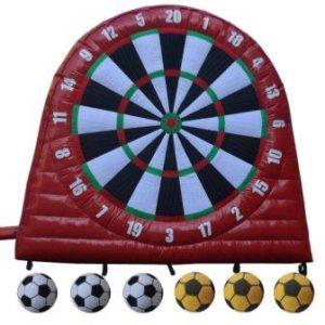 Outdoor PVC Tarpaulin Iflatable Soccer Dart Boards