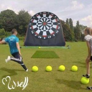 Self Outddoor Inflatable Soccer Dart Boards