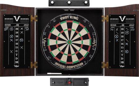 Viper Vault Sisal brsitle dartboard cabinet