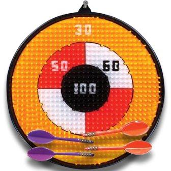 Family Dart Board Game Set for Kids and Adults by Gamie