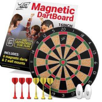 magnetic dart board for adults and kids