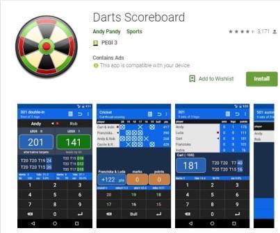 dart score apps