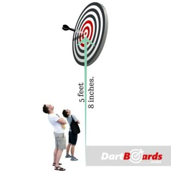 dartboard height