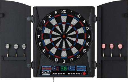 Fat Cat Electronx, Fat Cat Electronx Electronic Soft Tip Dartboard With  Cabinet