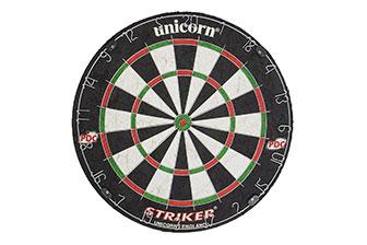 Unicorn Men's Striker Pdc Bristle Dart Board