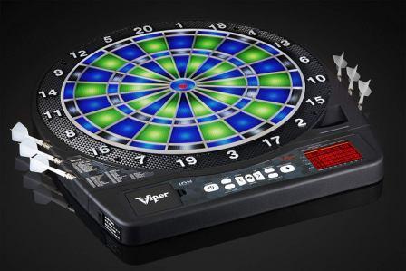 Viper Ion Illuminated Electronic Soft-Tip Dartboard