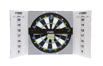cheap cardboard dart board