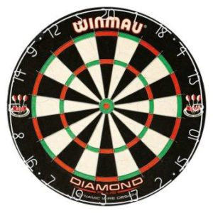 winmau steel tip dart board